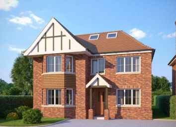 Thumbnail 5 bed detached house for sale in Fairfield Lane, Farnham Royal, Slough
