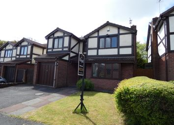 Thumbnail 4 bed detached house for sale in Satinwood Close, Ashton-In-Makerfield, Wigan