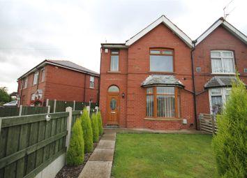 Thumbnail 3 bed semi-detached house for sale in Eafield Road, Belfield, Rochdale, Great Manchester