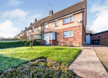 Thumbnail 3 bed semi-detached house for sale in Farmclose Road, Wootton, Northampton