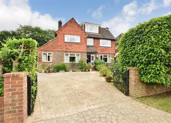 Thumbnail 5 bed detached house for sale in Bentsbrook Park, North Holmwood, Dorking, Surrey