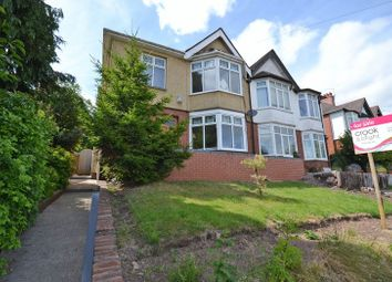 Thumbnail 4 bed semi-detached house for sale in Outstanding West Side Period House, Friars Road, Newport