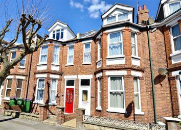 Thumbnail 4 bed terraced house for sale in Warren Road, Folkestone, Kent