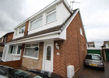 Thumbnail 3 bed semi-detached house for sale in Olwen Crescent, Stockport