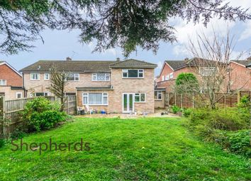 Thumbnail 5 bed semi-detached house for sale in High Wood Road, Hoddesdon, Hertfordshire