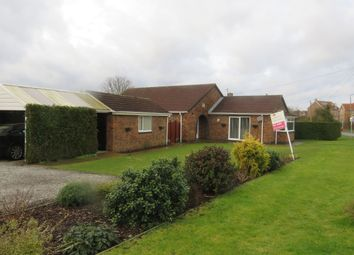 Thumbnail 3 bed detached bungalow for sale in Hawling Road, Market Weighton, York