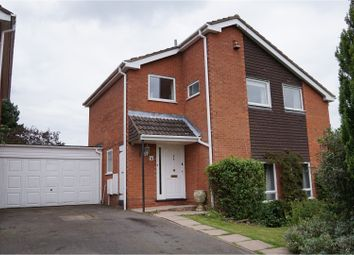 Thumbnail 4 bed detached house for sale in Marshfield Close, Redditch