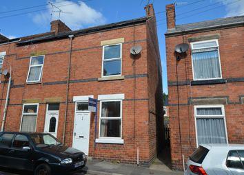 Thumbnail 2 bedroom terraced house for sale in John Street, Brampton, Chesterfield