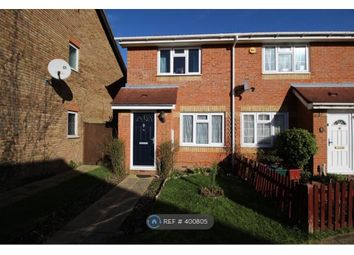 Thumbnail 2 bed end terrace house to rent in Pacific Close, Feltham
