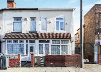 Thumbnail 5 bed end terrace house for sale in Cherrywood Road, Bordesley Green, Birmingham, West Midlands