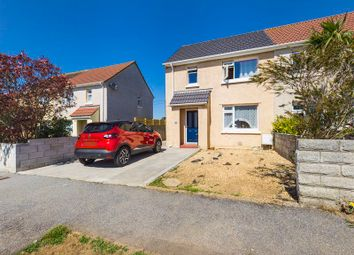 Thumbnail 2 bed semi-detached house for sale in Trerise Road, Camborne