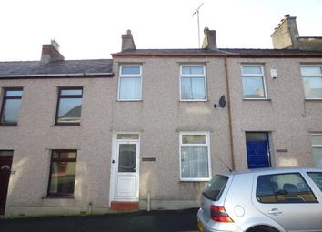 Thumbnail 2 bed terraced house for sale in Edward Street, Twthill West, Caernarfon, Gwynedd