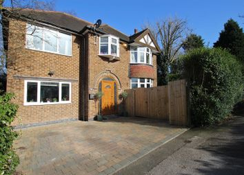 Thumbnail 5 bedroom detached house for sale in Private Road, Mapperley, Nottingham