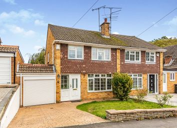 Thumbnail 3 bed semi-detached house for sale in Trelleck Road, Reading