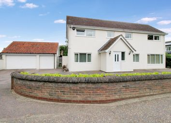 Thumbnail 4 bed detached house for sale in High Green, Brooke, Norwich