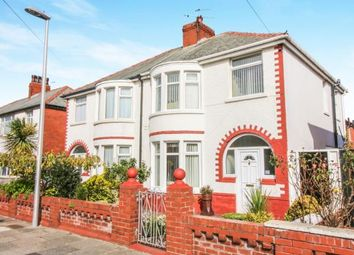 Thumbnail 3 bed semi-detached house for sale in Rosebank Avenue, Blackpool, Lancashire, .