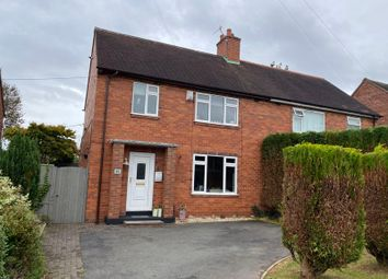 Thumbnail 3 bed semi-detached house for sale in Hereford Avenue, Clayton, Newcastle, Staffordshire