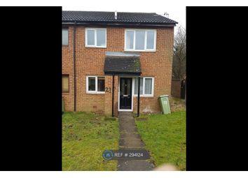 Thumbnail 1 bed end terrace house to rent in Medhurst, Milton Keynes