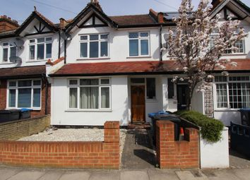 Thumbnail 4 bed terraced house for sale in Blagdon Road, New Malden