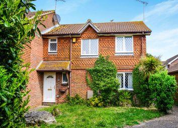 Thumbnail 3 bed terraced house for sale in Ascot Way, Rustington