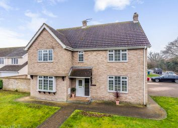 Thumbnail 4 bed detached house for sale in Stoke Road, Leavenheath, Colchester