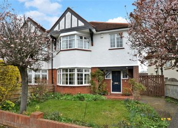 Thumbnail 4 bed semi-detached house for sale in Hillside Road, Cheam, Sutton