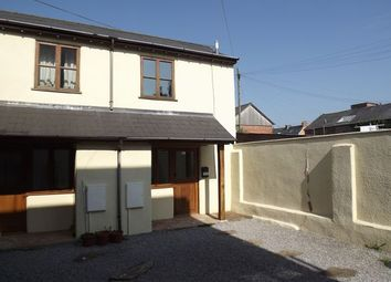 Thumbnail 1 bedroom semi-detached house to rent in Fore Street, Tiverton