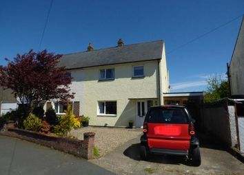 Thumbnail 3 bed semi-detached house for sale in Hadrians Avenue, Anthorn, Wigton