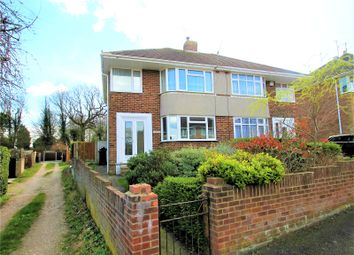 Thumbnail 3 bed semi-detached house for sale in Carlton Crescent, Chatham, Kent