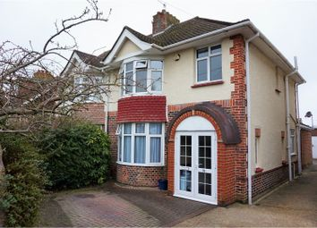Thumbnail 4 bed semi-detached house for sale in Foredown Drive, Portslade, Brighton