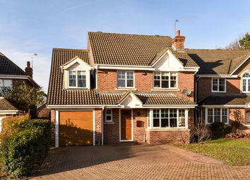 Thumbnail 4 bed detached house for sale in Sovereign Drive, Camberley