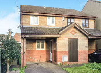 Thumbnail 2 bedroom semi-detached house for sale in Harris Street, Peterborough