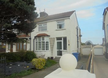 Thumbnail 4 bed semi-detached house for sale in Newton Drive East, Blackpool