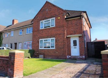 Thumbnail 4 bed end terrace house for sale in Coronation Road, Wednesbury