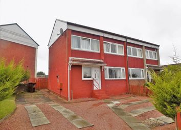 Thumbnail 3 bed semi-detached house for sale in Duns Crescent, Wishaw