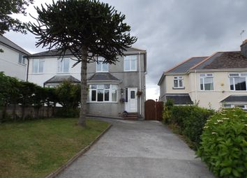 Thumbnail 3 bedroom semi-detached house to rent in Church Hill Road, Hooe, Plymouth