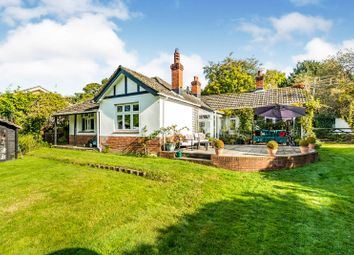 Thumbnail 3 bed detached bungalow for sale in Rownhams Lane, North Baddesley, Southampton