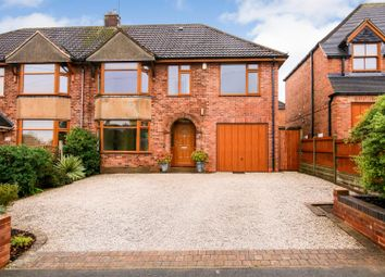 Thumbnail 4 bed semi-detached house for sale in Barton Road, Rugby