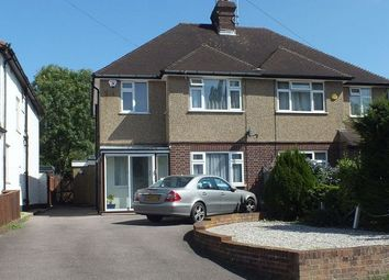 Thumbnail 4 bed semi-detached house to rent in Fairview Drive, Watford