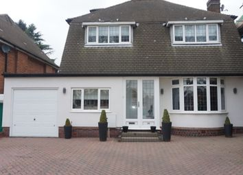 Thumbnail 4 bed detached house for sale in Walsall Road, Four Oaks, Sutton Coldfield