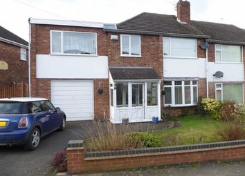 Thumbnail 3 bedroom end terrace house for sale in Ullswater Road, Binley, Coventry
