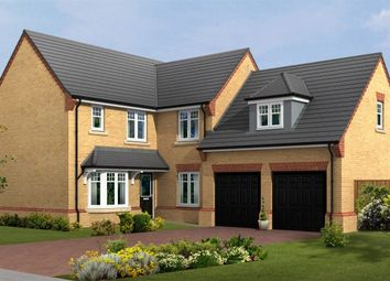 "Thumbnail 5 bed detached house for sale in ""The Portchester"" at Lovesey Avenue, Hucknall, Nottingham"