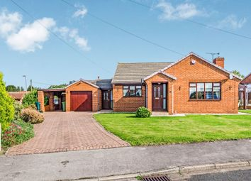 Thumbnail 3 bed detached bungalow for sale in Manor Close, Camblesforth, Selby
