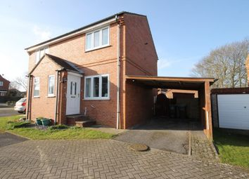 Thumbnail 2 bed semi-detached house to rent in Scholla View, Northallerton