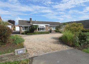 Thumbnail 4 bed detached bungalow for sale in Church Lane, Cherry Willingham, Lincoln