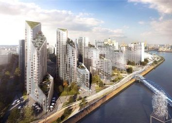 Thumbnail 2 bed flat for sale in Upper Riverside, Greenwich Peninsula