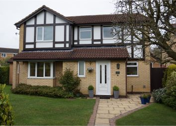 Thumbnail 4 bed detached house for sale in Severn Road, Oadby