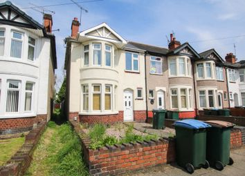 Thumbnail 3 bed end terrace house to rent in Denbigh Road, Coventry
