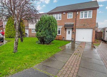 Thumbnail 4 bedroom semi-detached house for sale in Denby Close, Cramlington