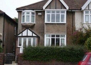 Thumbnail 4 bed semi-detached house to rent in Northumberland Road, Redland, Bristol